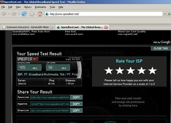 Testing Fastnet