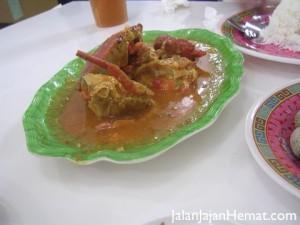 Acui Kepiting Saos Padang