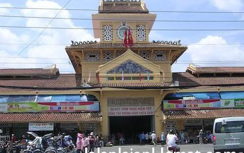 Tempat Wisata di Ho Chi Minh City (Vietnam) – Binh Tay Market