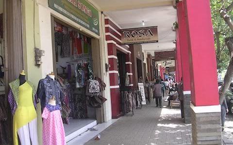 Pasar Grosir Batik Setono Pekalongan