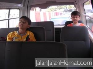 Sewa Van Inside