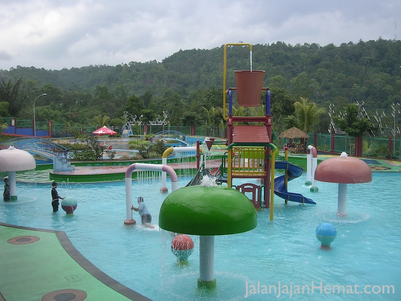 Kolam di Waterboom