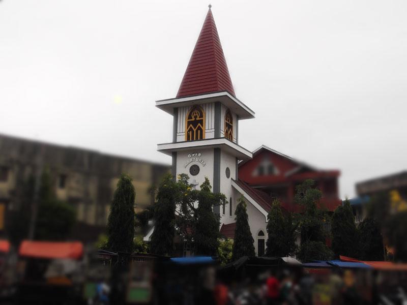 Gereja Marturia, gereja tertua di Lampung