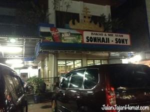 Kedai bakso Sonhaji-Sony