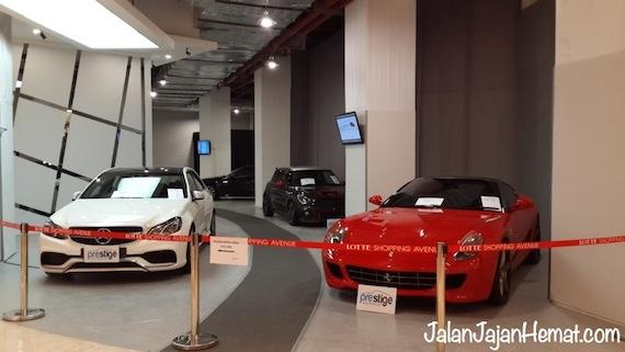 Showroom premium car