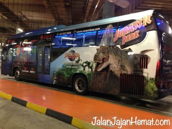 Shuttle bus gratis ke dan dari Sentosa