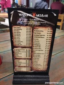 Daftar Minuman