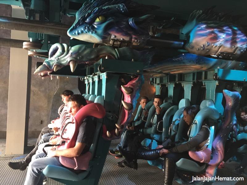 Dragon Challenge Roller Coaster