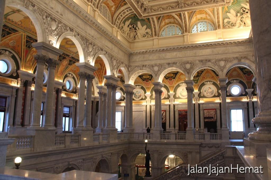 Bagian dalam Library of Congress