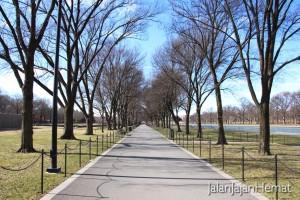 Lincoln Memorial - Jalan Setapak