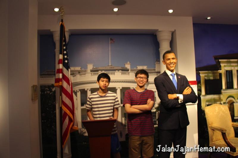Bersama Mr Obama di White House