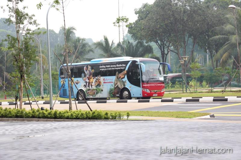 Shuttle bus gratis ke Sentosa