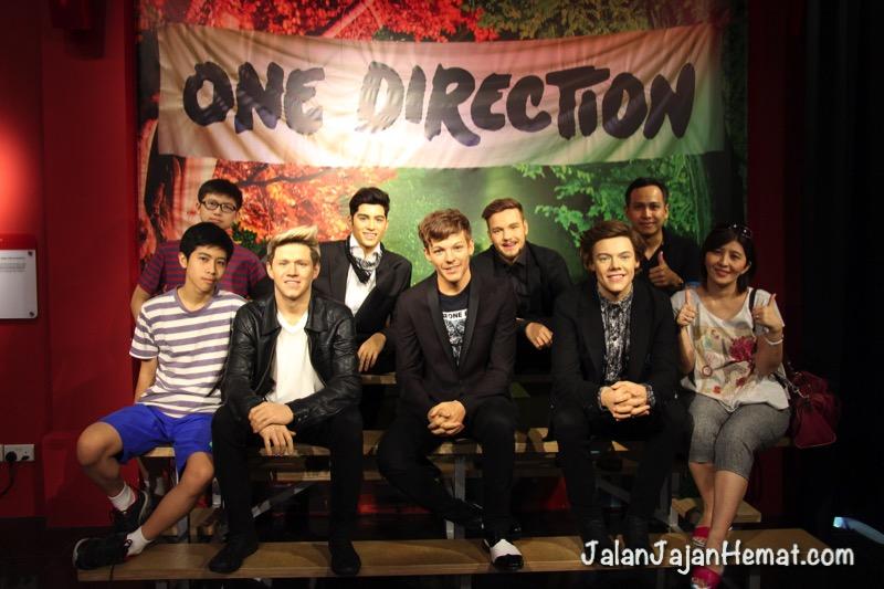 Foto bersama One Direction