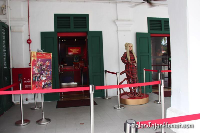 Pintu masuk Madame Tussauds