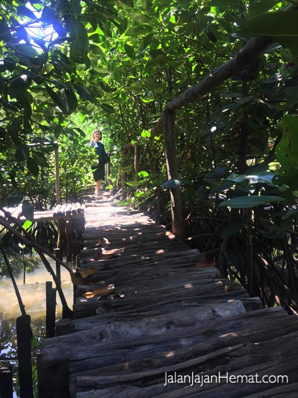 Jalan dari bambu